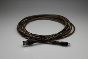 Ultimate pure Silver Dual USB A-B interconnect cable by Lavricables