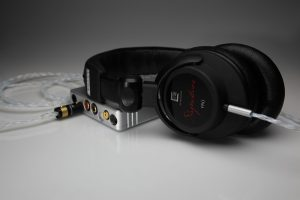 Reference pure Silver Ultrasone Signature Pro upgrade cable v2.0 by Lavricables