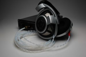 Ultimate pure Silver Sennheiser HD800 HD800s HD820 upgrade cable by Lavricables