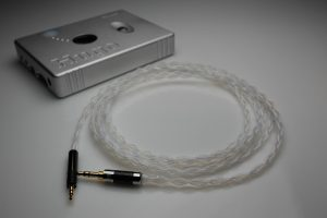 Reference pure Silver Sennheiser Momentum upgrade cable v2.0 by Lavricables