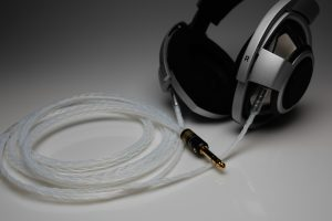 Master pure Silver EnigmAcoustics Dharma D1000 upgrade cable by Lavricables
