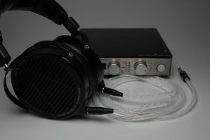Ultimate pure Silver Audeze LCD2 LCD3 LCDX LCD4 upgrade cable by Lavricables