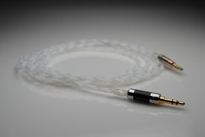 Reference pure Silver B&O BeoPlay H6, H7, H8, H9 upgrade cable by Lavricables