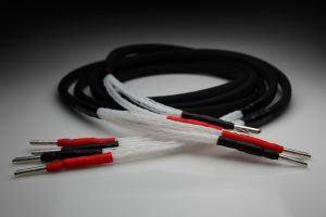 Master 28 core pure Silver speaker cables by Lavricables