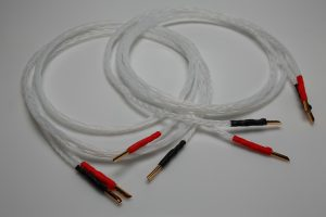 Reference pure Silver speaker cables by Lavricables