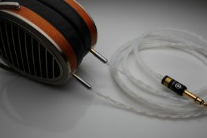 Ultimate Silver Hifiman HE1000 Edition X upgrade cable by Lavricables