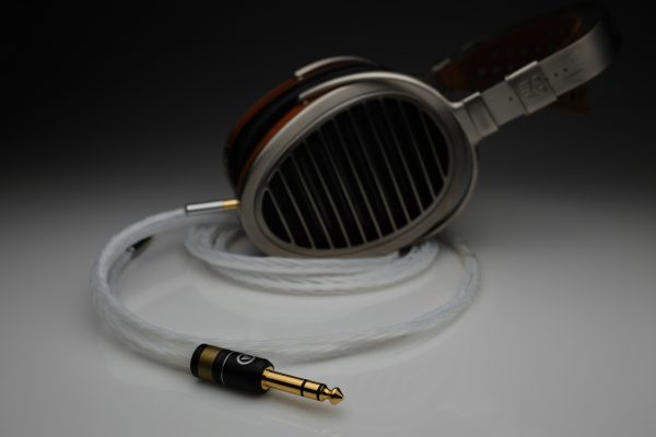 Master Silver HiFiMan Susvara HE1000 Edition X upgrade cable by Lavricables