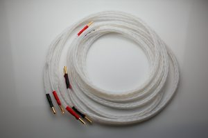 Ultimate pure Silver speaker cables by Lavricables