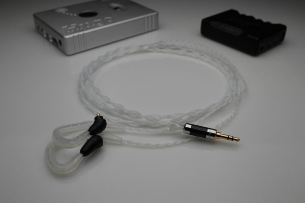 Reference pure Silver Sony XBA-H2, XBA-H3, XBA-Z5, XBA-A3, XBA-A2, XBA-A1 iem upgrade cable by Lavricables