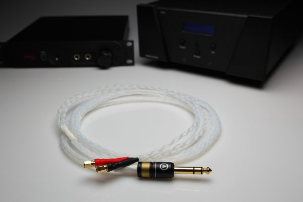Ultimate pure Silver HiFiMAN HE400 HE500 HE5 HE560 HE6 upgrade cable by Lavricables