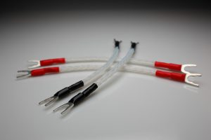 Ultimare pure Silver biwiring jumpers cables set by Lavricables