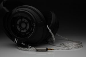 Master pure Silver awg22 multistrand litz Sennheiser HD800 HD800s HD820 headphone upgrade cable by Lavricables