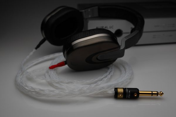 Ultimate pure Silver Ultrasone Edition 5 8 M upgrade cable by Lavricables