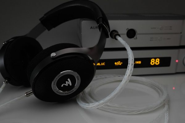 Master pure Silver Focal Stellia Elear Clear Elegia Elex Radiance headphone upgrade cable by Lavricables