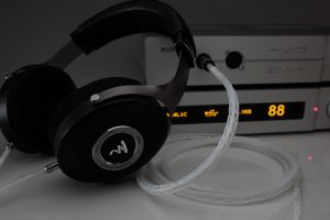 Master pure Silver Focal Stellia Elear Clear Elegia Elex headphone upgrade cable by Lavricables