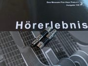 Sennheiser HD800 HD800s HD820 carbon rhodium plated plugs by Lavricables