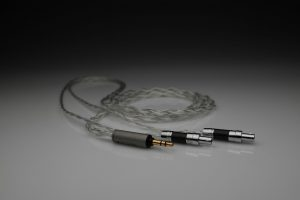 Ultimate pure Silver ENIGMAcoustics Dharma D1000 multistrand litz awg25 headphone upgrade cable by Lavricables