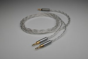 Ultimate pure Silver Hifiman HE1000 Edition X multistrand litz awg25 upgrade cable by Lavricables