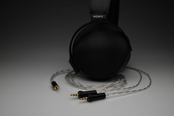 Master pure Silver Sony Z1R MDR-ZX2 MDR-Z7 Z7M2 multistrand litz awg22 headphone upgrade cable by Lavricables