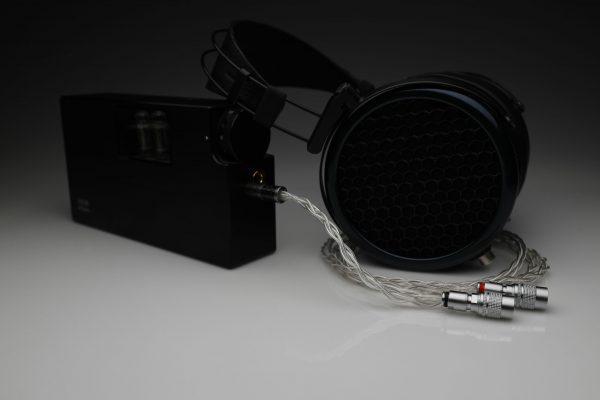 Master pure Silver awg22 multistrand litz MrSpeakers DCA Dan Clark Audio Ether Flow C Aeon Alpha Dog Alpha Prime headphone upgrade cable by Lavricables