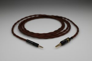 Reference pure Silver Audio Technica M40x M50x upgrade cable v2.0 by Lavricables