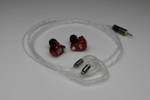 Reference pure silver solid core awg28 64 Audio tia Fourtе tia Triо U18t U12t U10 A18t A12t A10 A6t A4t A3e A2e N8 2 pin iem upgrade cable by Lavricables
