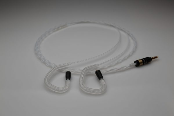 Reference pure multistrand silver Shure SE215 SE425 SE535 SE846 iem mmcx upgrade cable by Lavricables