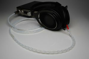 Ultimate pure Silver Shure SRH1540 SRH1840 headphone upgrade cable by Lavricables