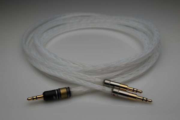 Master pure Silver Sony Z1R MDR-ZX2 MDR-Z7 Z7M2 upgrade cable by Lavricables