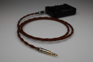 Reference Silver Sony MDR-Z1000, MDR-7520, MDR-1A upgrade cable by Lavricables