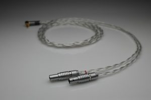 Grand 20 core pure Silver awg20 multistrand litz Focal Utopia headphone upgrade cable by Lavricables