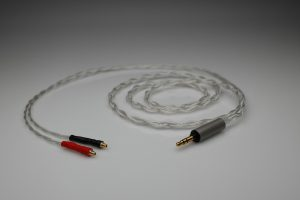Master pure Silver awg22 multistrand litz Pioneer Master 1 SEM1 headphone upgrade cable by Lavricables