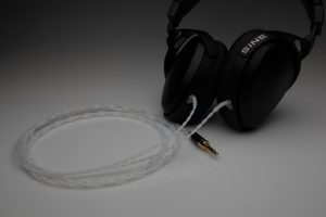 Reference Silver Audeze Sine upgrade cable by Lavricables