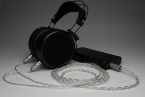 Master pure Silver awg22 multistrand litz MrSpeakers DCA Dan Clark Audio Stealth Ether Flow C Aeon Alpha Dog Alpha Prime headphone upgrade cable by Lavricables