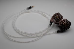 Reference pure Silver Audeze LCD-i3 LCD-i4 iSine 10 20 LCDi3 LCDi4 iem upgrade cable by Lavricables