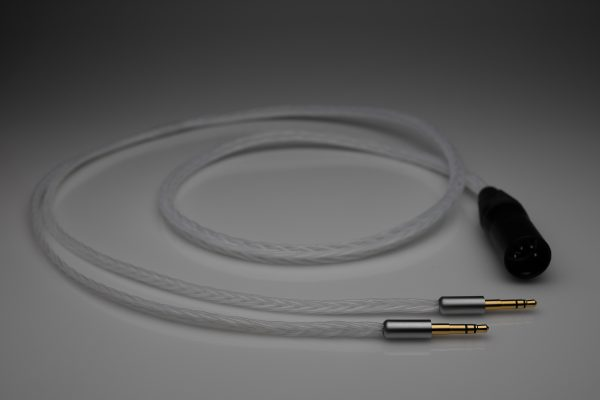 Master pure Silver Final Sonorous X VIII D8000 Pandora Hope headphone upgrade cable by Lavricables