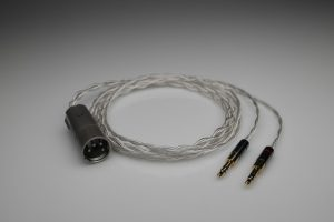 Master pure Silver Pioneer SE Monitor 5 SEM5 multistrand litz awg22 headphone upgrade cable by Lavricables
