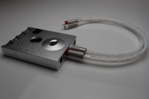 Grand 20 core full pure Silver RCA Interconnects by Lavricables with AECO pure silver plugs