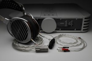 Master pure Silver awg22 multistrand litz HiFiMan Susvara HE1000 Edition X headphone upgrade cable by Lavricables