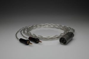 Grand Pure Silver awg20 multistrand litz Sony Z1R Z7 Z7M2 headphone upgrade cable by Lavricables