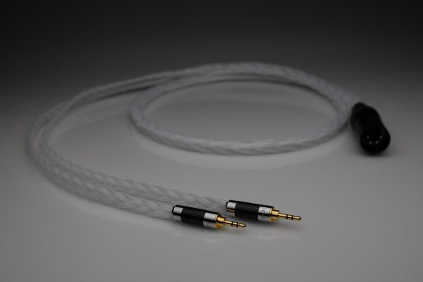 Grand 20 core pure Silver HiFiMan Susvara HE1000 Edition X headphone upgrade cable by Lavricables