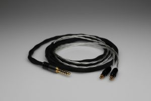 Master pure Silver awg22 multistrand litz Audio Technica ATH-ESW750 ESW950 ESW990 ADX5000 WP900 AP2000 Ti ATH-AWKT AWKT ATH-AWAS AWAS headphone upgrade cable by Lavricables