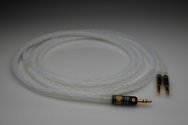 Master Silver Audio Technica ATH-ESW750 ESW950 ESW990 ADX5000 upgrade cable by Lavricables