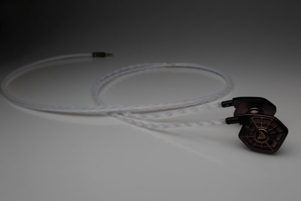 Ultimate Silver Audeze iSine LCD-i4 iSine 10 20 upgrade cable by Lavricables