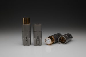 AECO balanced XLR 1060 plugs for pure silver cables by Lavricables