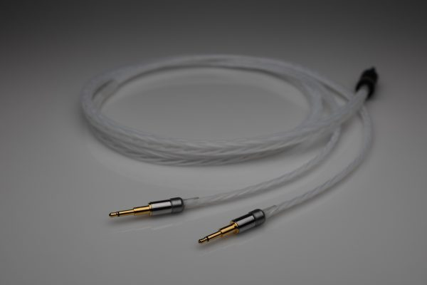 Master pure Silver Abyss Diana headphone upgrade cable by Lavricables