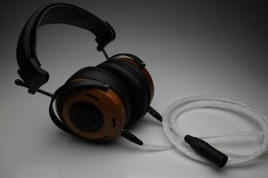 Grand 20 core pure Silver ZMF Aeolus Eikon Atticus Verite Auteur headphone upgrade cable by Lavricables