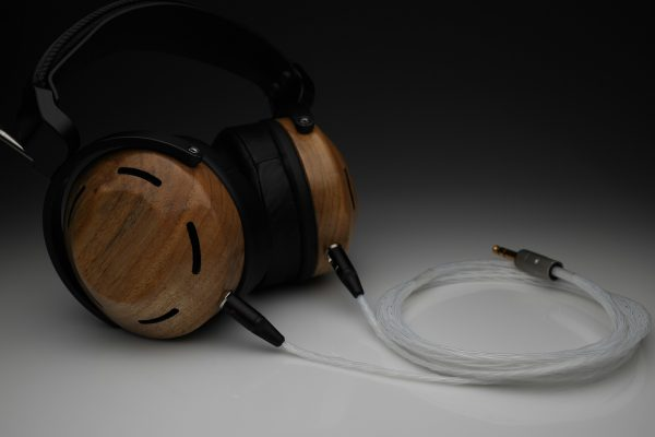 Master pure solid Silver ZMF Aeolus Eikon Atticus Verite Auteur headphone upgrade cable by Lavricables