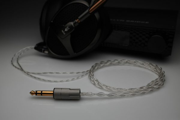 Ultimate pure Silver multistrand litz Meze Empyrean Audeze LCD2 LCD3 LCDX LCD4 upgrade headphone cable by Lavricables