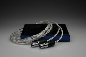 Grand 20 core pure Silver awg20 multistrand litz Meze Empyrean headphone upgrade cable by Lavricables